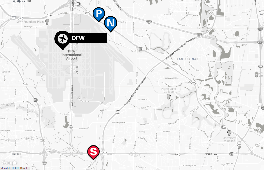 DFW Remote Parking | The Parking Spot on