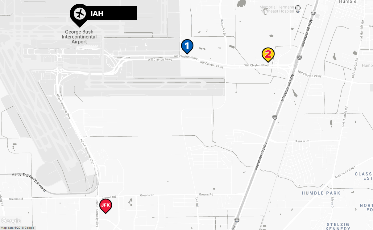 George Bush Intercontinental Airport Parking | The Parking Spot